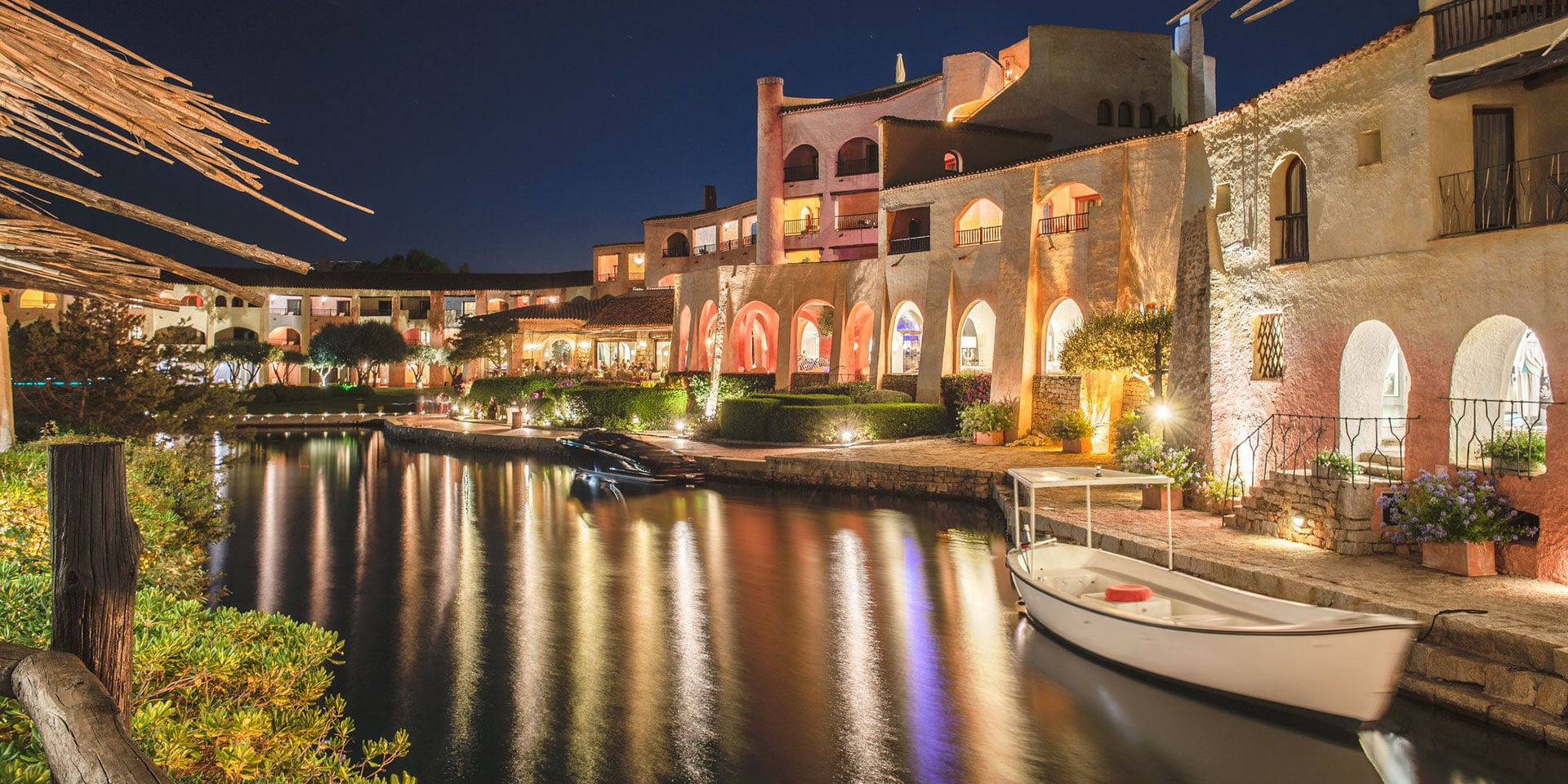 Costa Smeralda heats up after dark. (Photo: Marriott International)