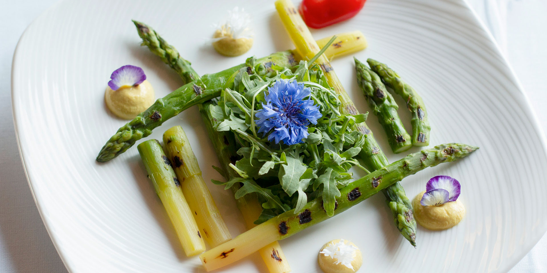 Guests can find Equilibrium Menu dishes at Romazzino Restaurant.