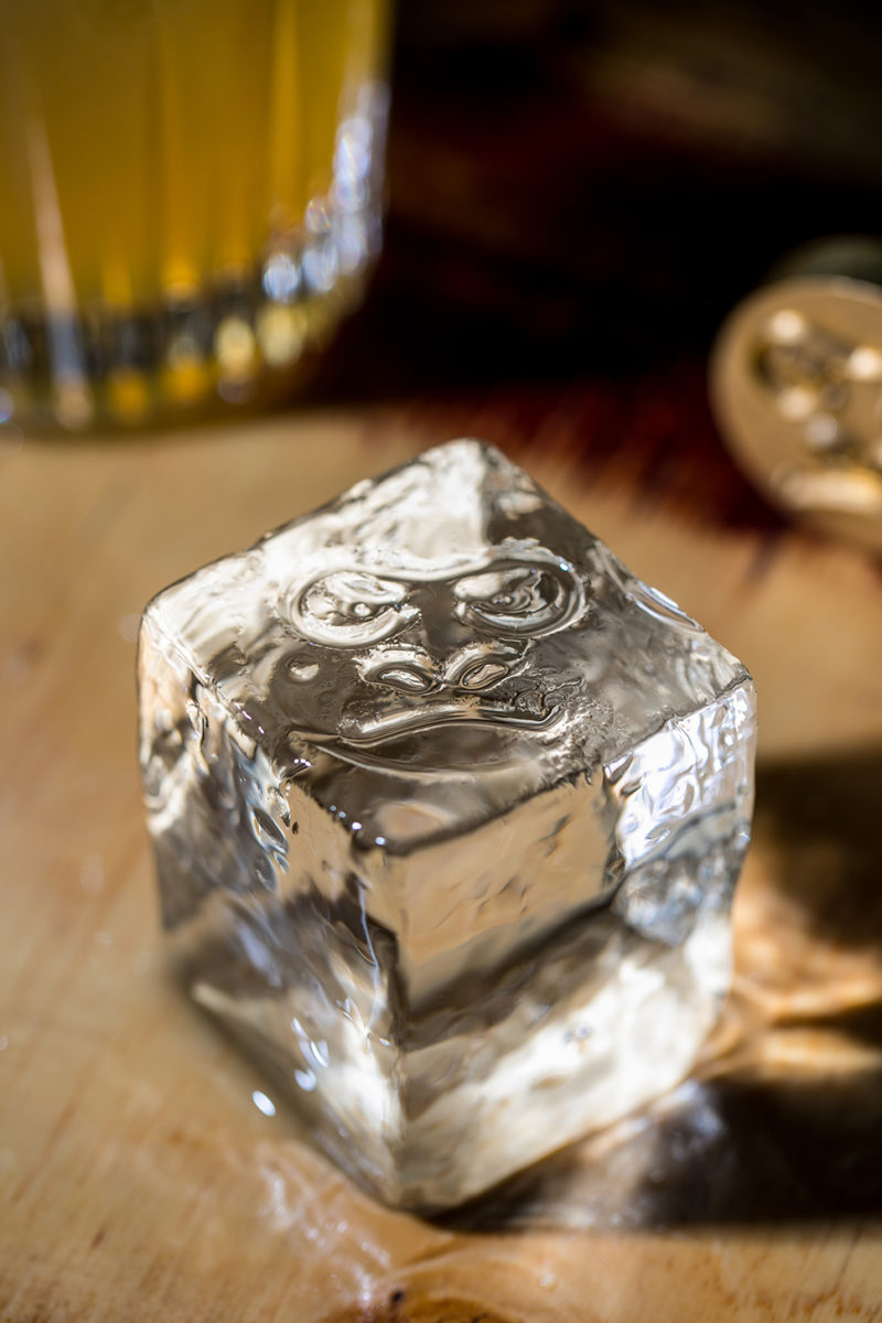 Drink Kong's Customized Ice Cubes.  Credit: Alberto Blasetti