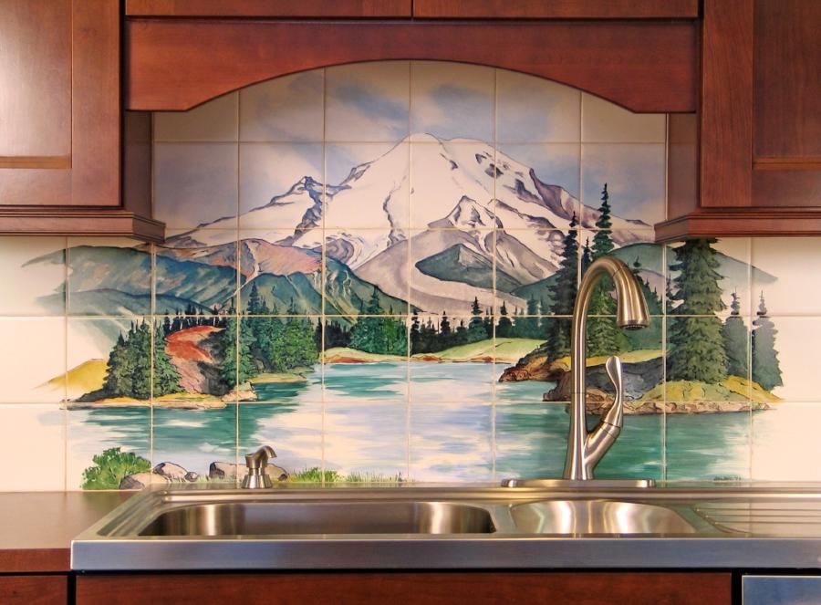 Mt. Rainier/ Eunice Lake