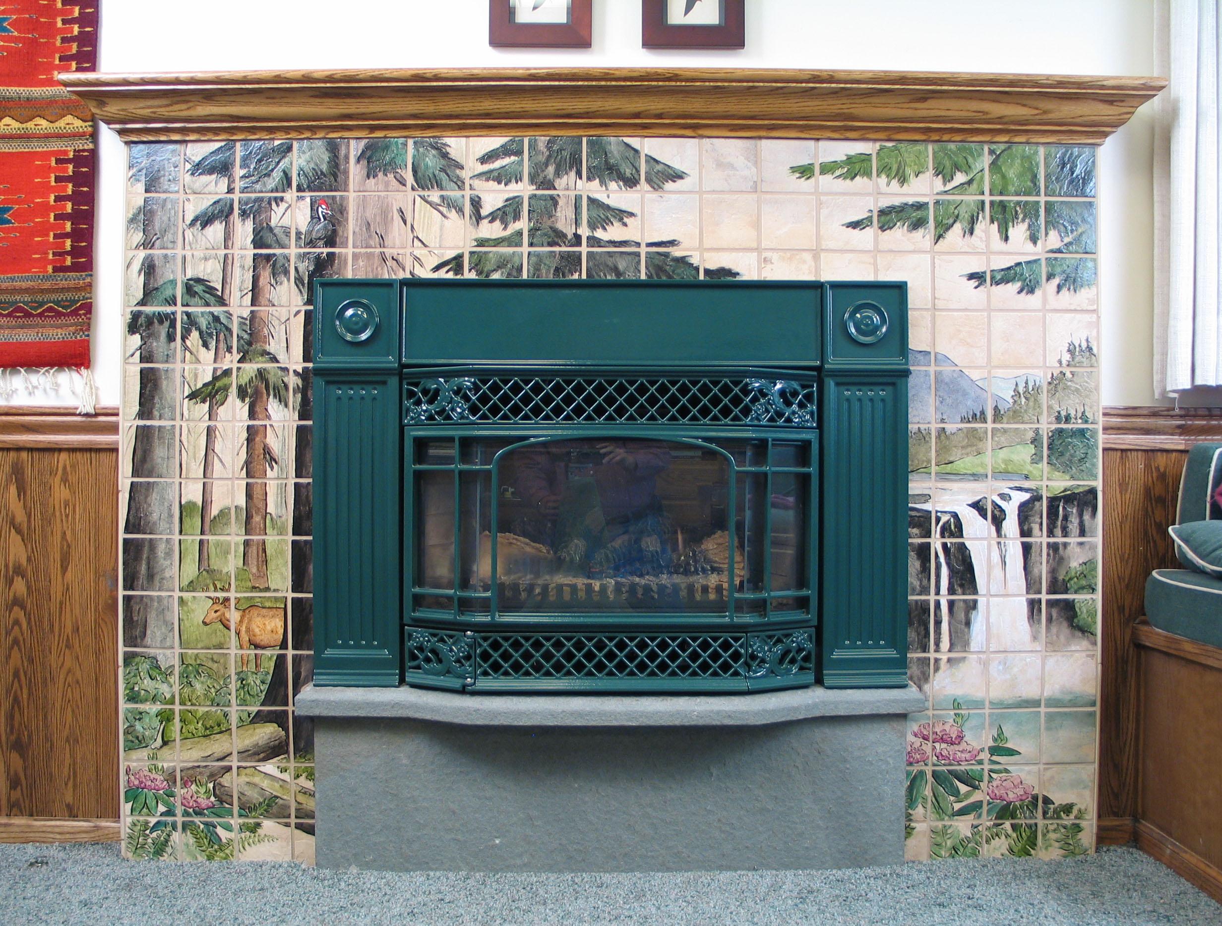 Falls Fireplace