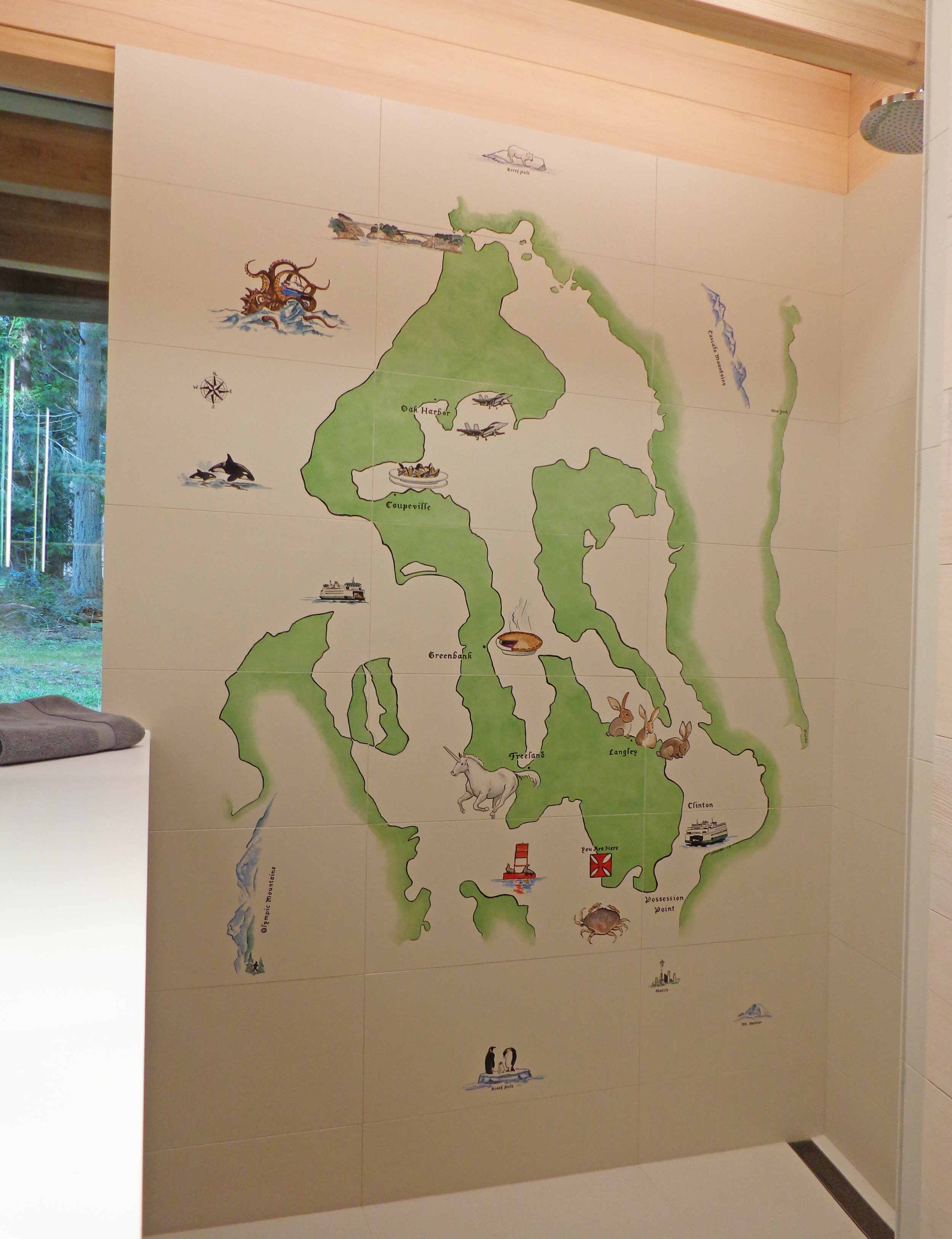 Whidbey Island Map