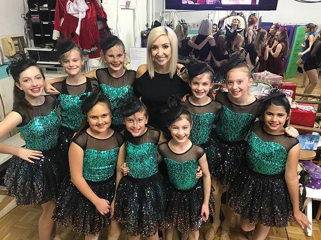 """Ms Joy's """"Merriest"""" dancers ready to perform! #sdfdazzle #sdfholidayshow"""