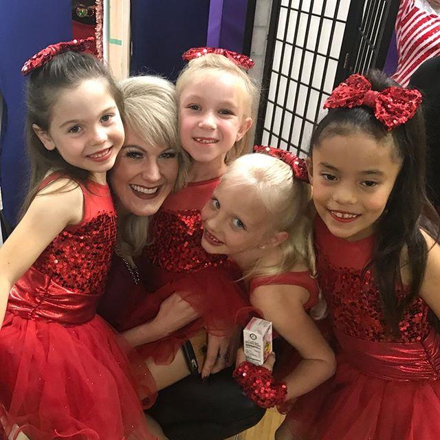 Let's hug Ms Ashley!! #sdfdazzle #sdfholidayshow