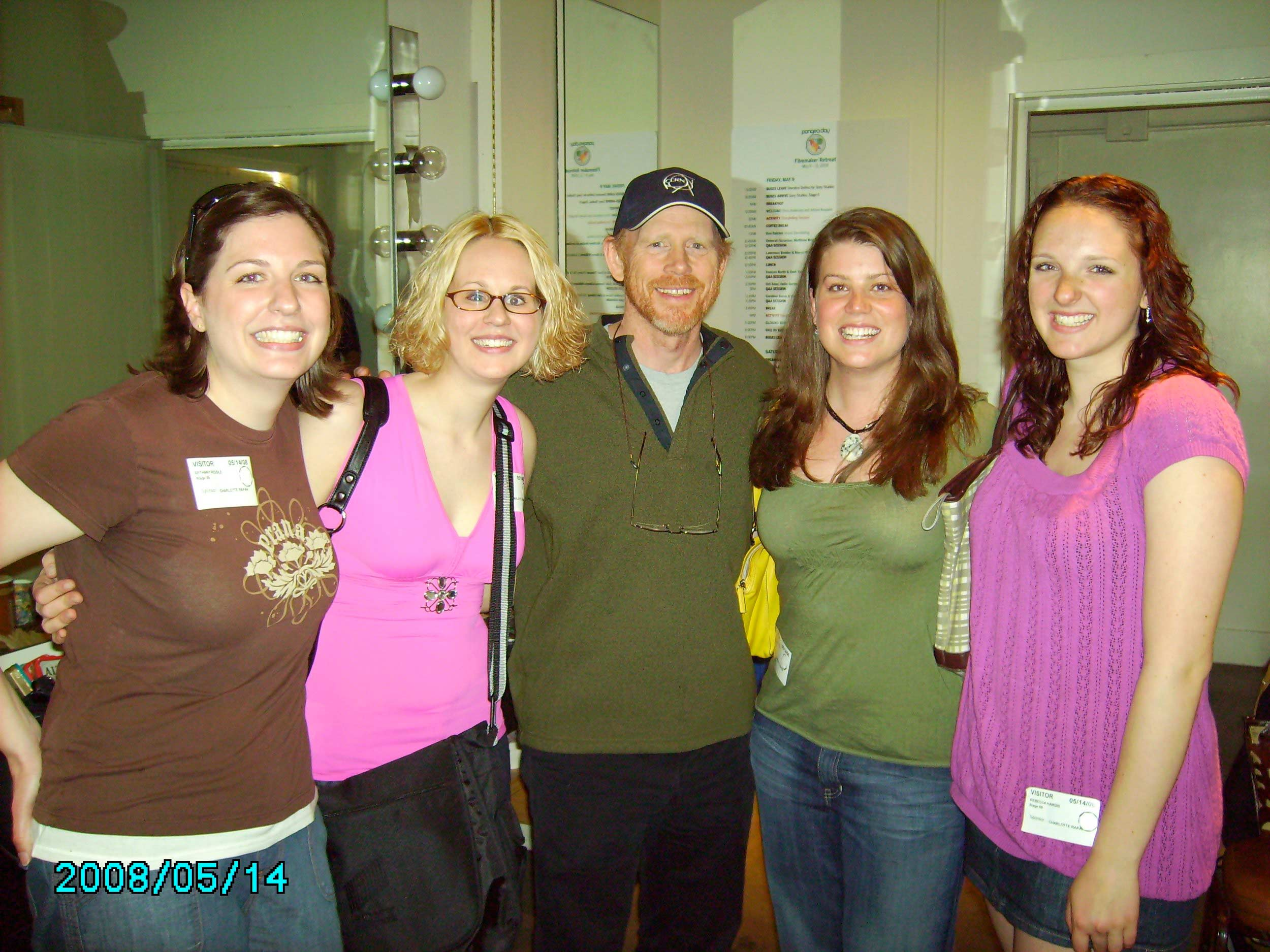 Jenny Hargis meets Ron Howard   Dream Ambassador Jenny had a smile that lit up the room her joy continues to live in the hearts of all those she touched.