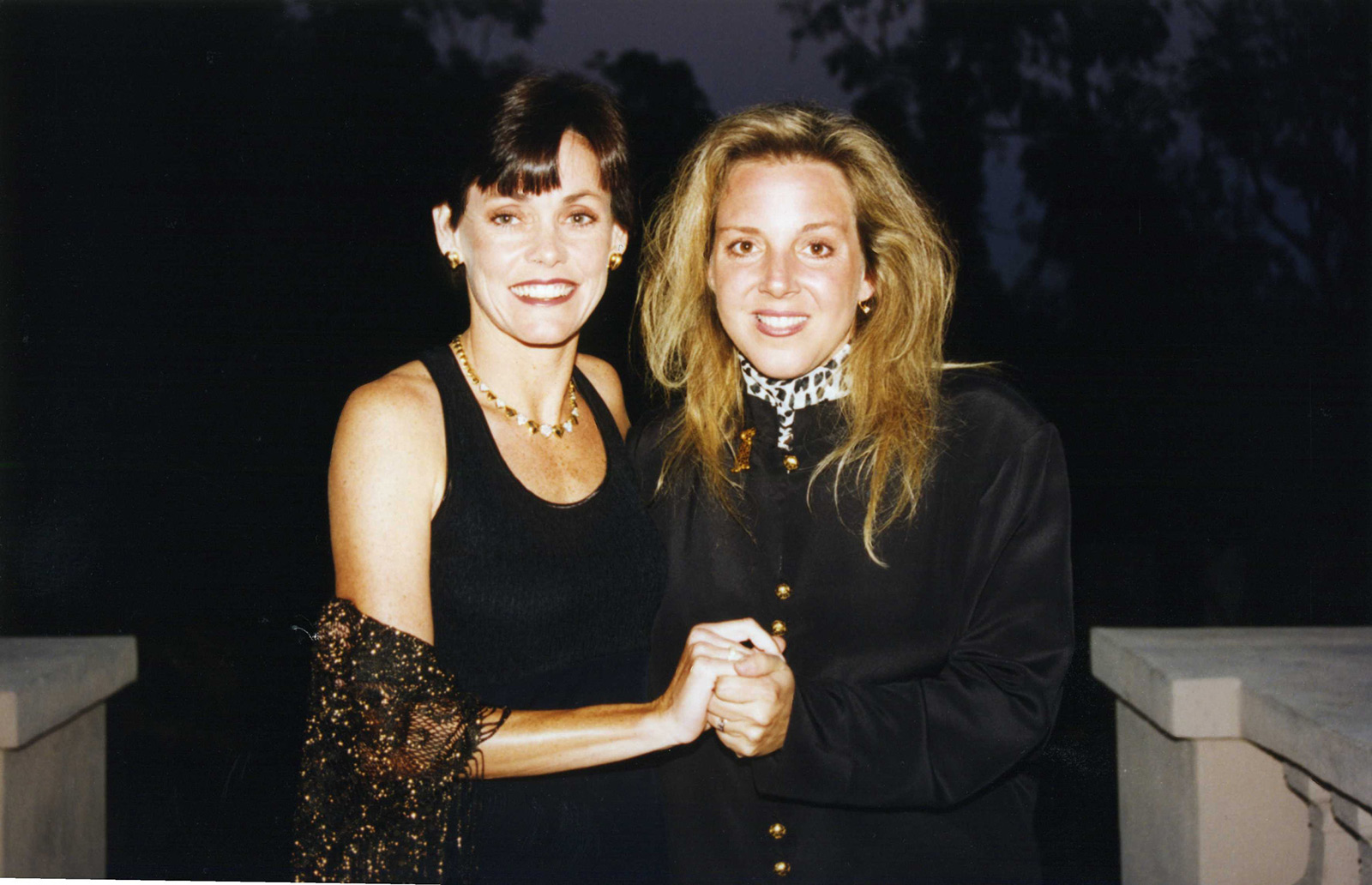 The Founders sisters Michele Nicols & Jenny Barr  Michelle wrote one of the first of two checks to begin the dream (the other was by Rod Lathim) along with countless contributions as Dream got it's legs, and along with sister Jenny indispensable emotional support.