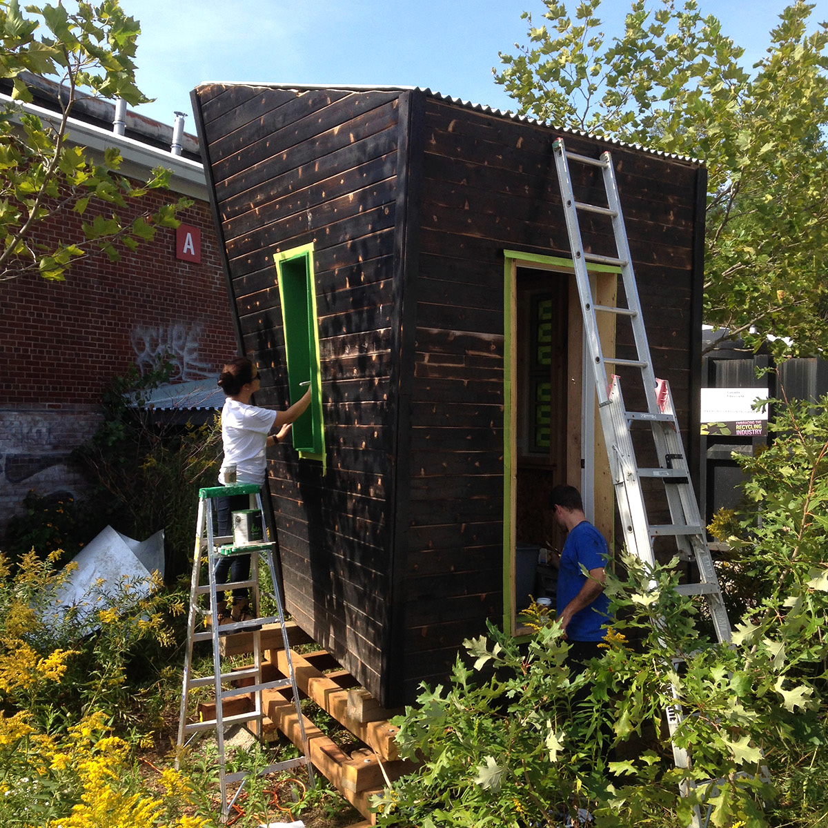 Method.TO Test Shed  Residential Construction Method for a Toronto Climate