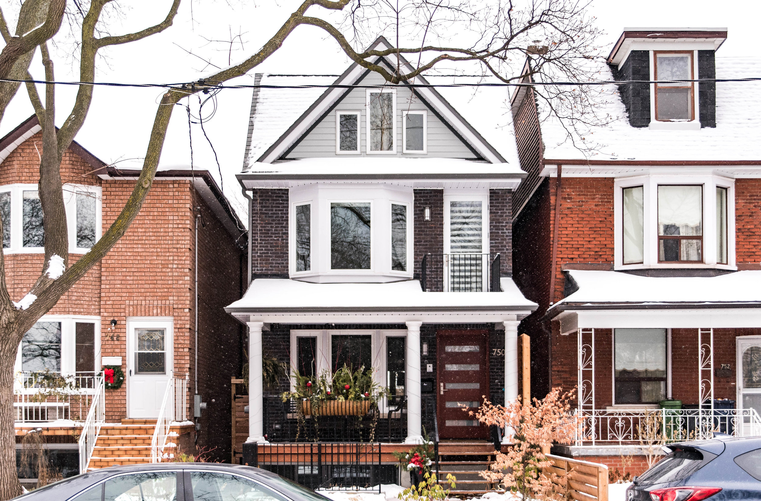 Crawford Street  Full Renovation, Basement Suite, Rear Addition, and Third-floor Top-up