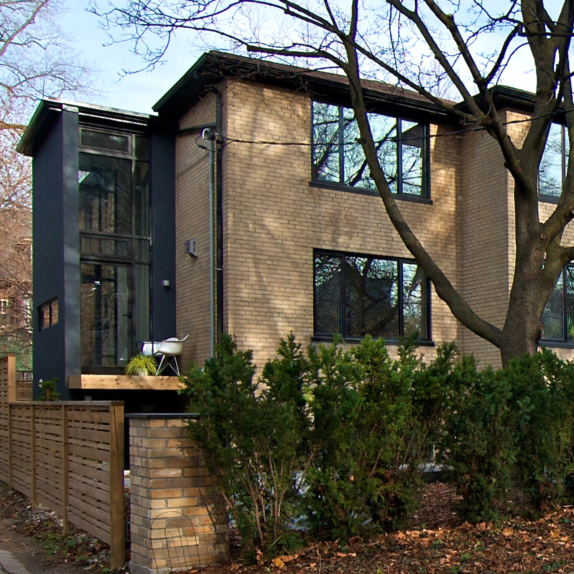 Rosedale Residence  Modern Triplex Renovation and Addition