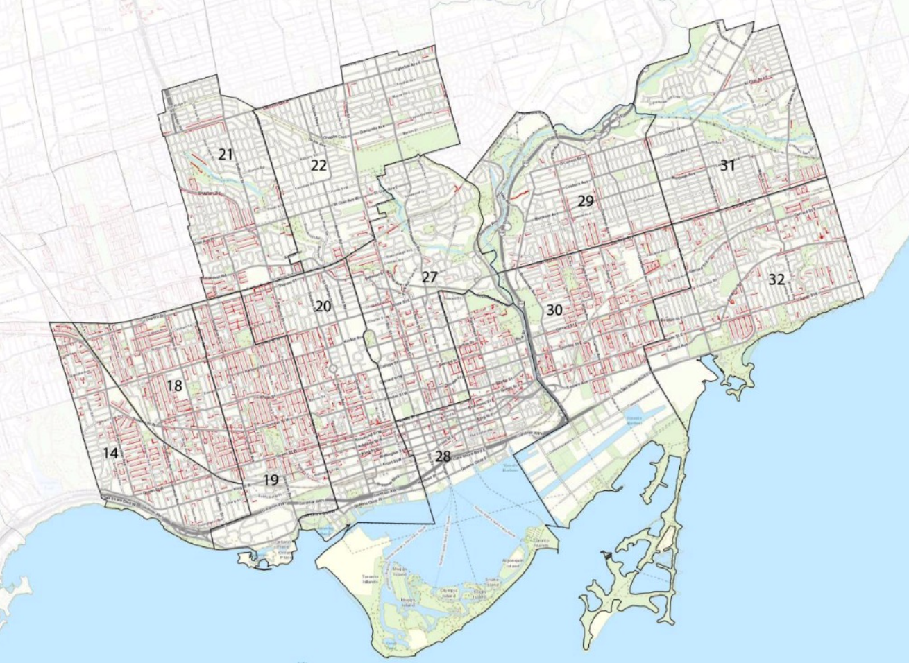Photo from Toronto City Planning 'Changing Lanes' Presentation, May 2, 2018