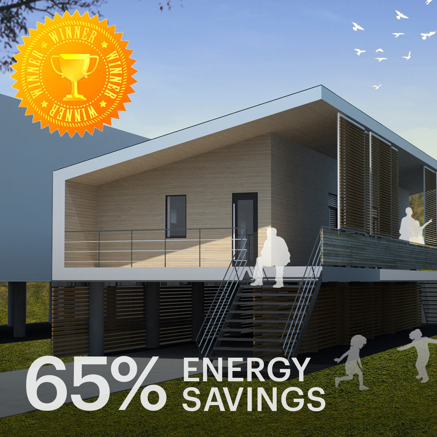 New Orleans  Modern Low-Cost, Low-Energy Passive House for the Lower 9th Ward