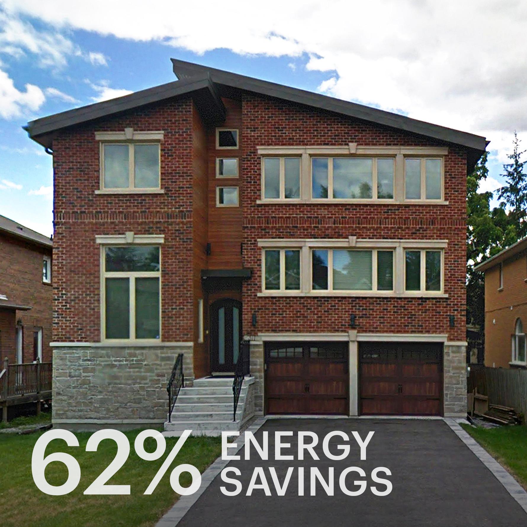 Spring Garden Avenue  North York Passive Solar Eco-home
