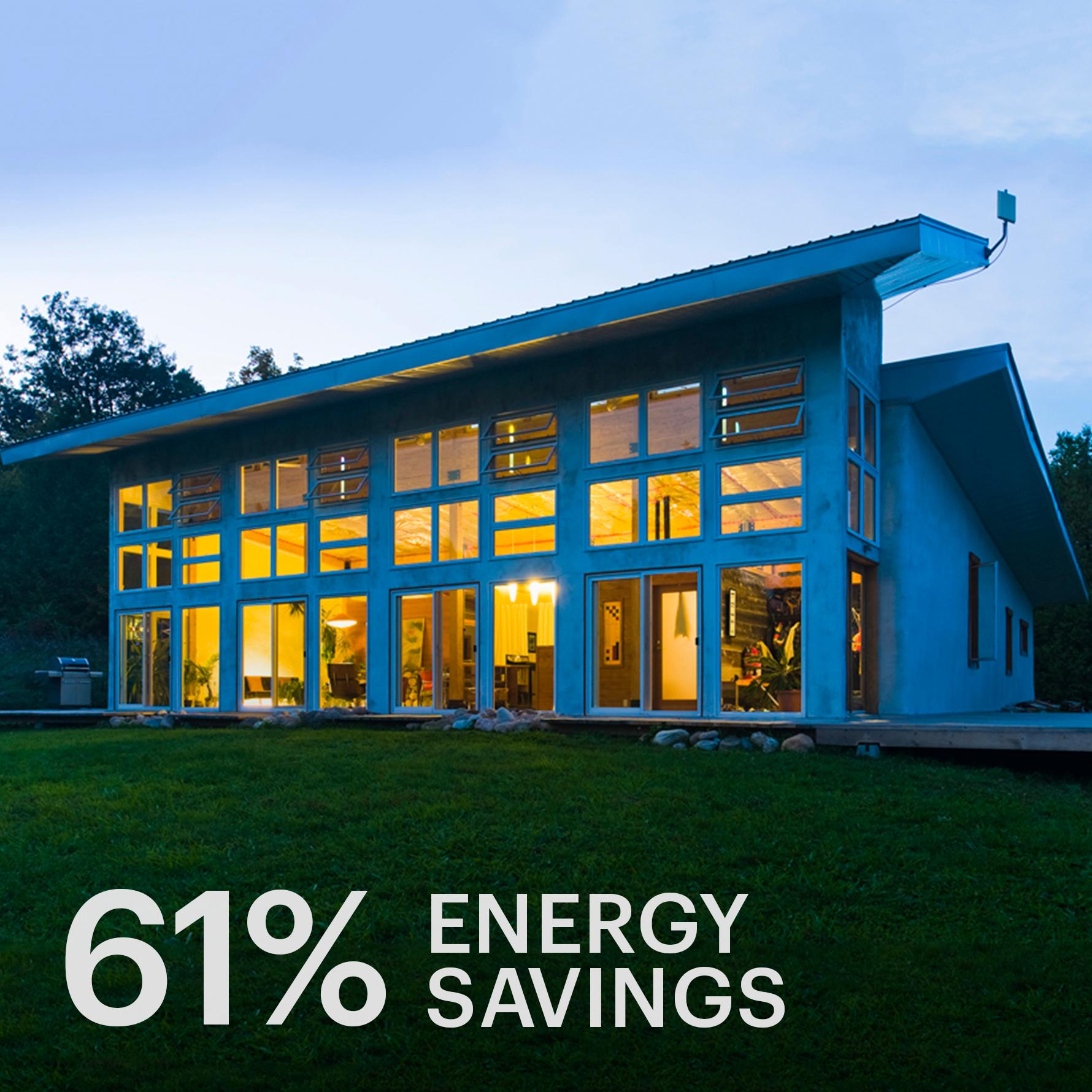 Hunter House  Strawbale, Off-grid Passive Solar House