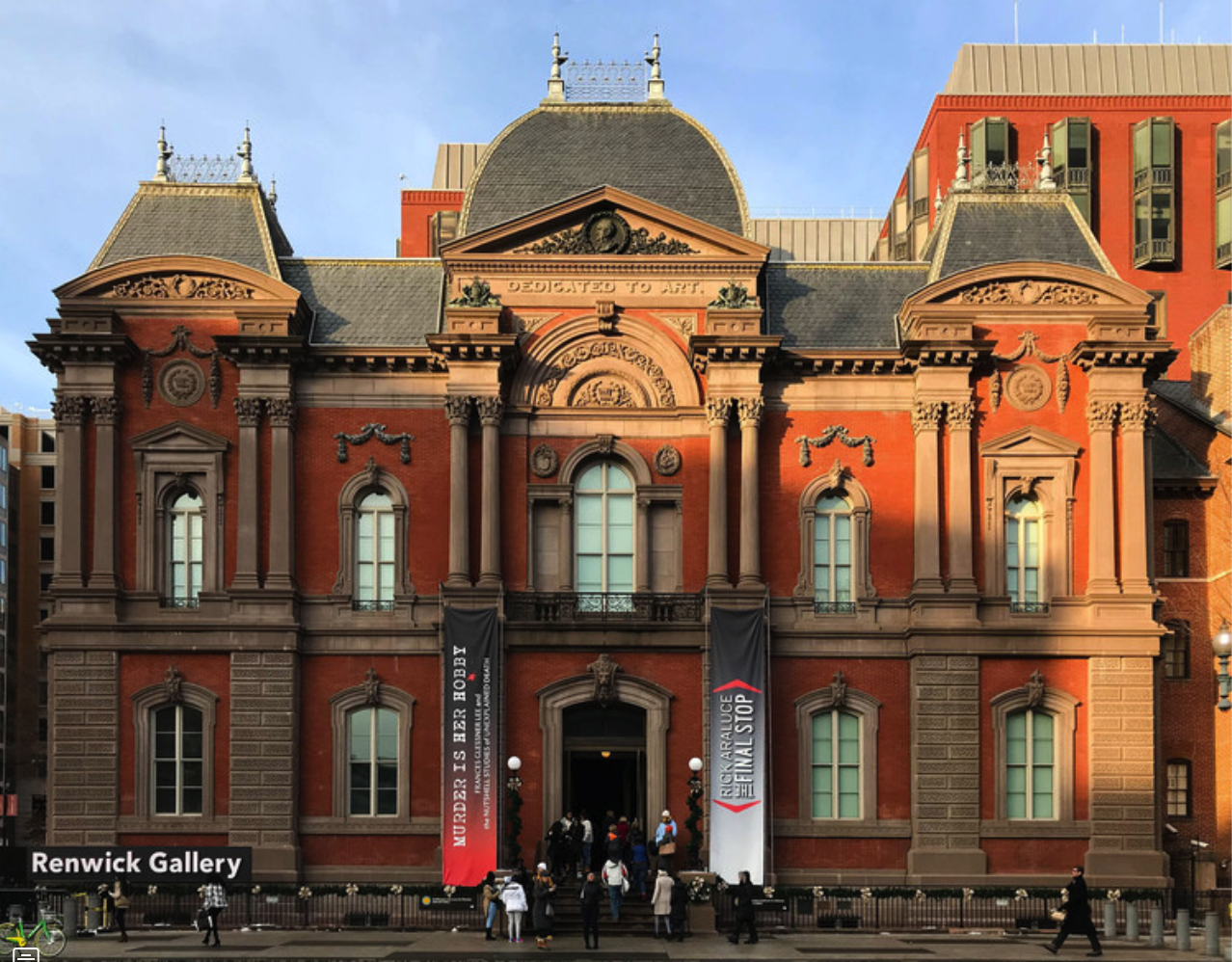 The Renwick Gallery. Image Courtesy of Flickr User massmatt