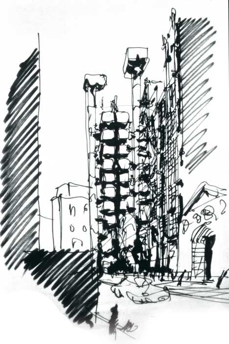 Lloyd's of London by Richard Rogers