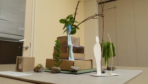 'Flowing Art' sculpture concept