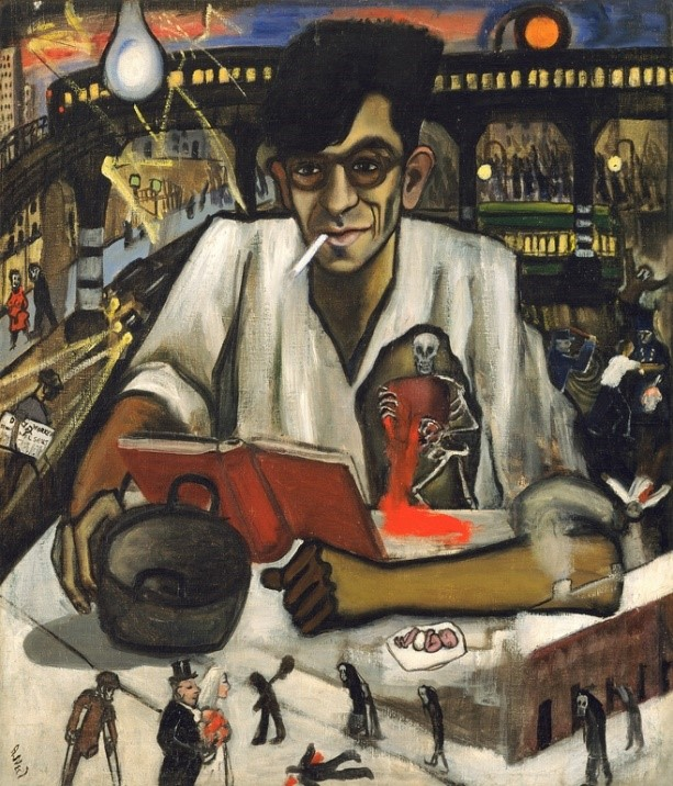 Alice Neel,  Kenneth Fearing , 1935.  Image Source