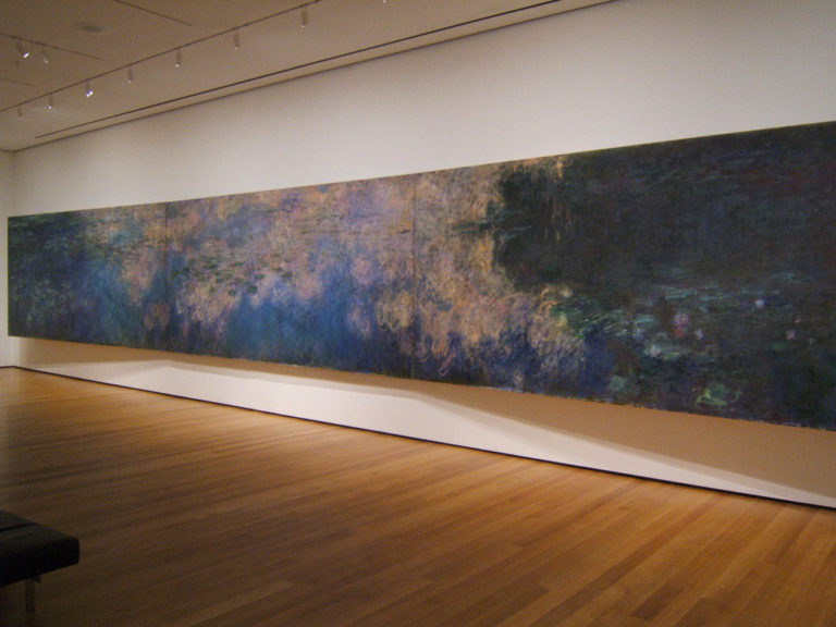 Claude Monet,  Water Lilies , 1918.  Image Source