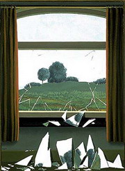 Rene Magritte,  Key to the Fields , 1936.  Image Source