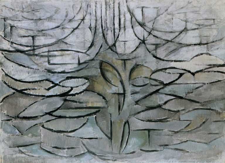 Piet Mondrian,  Flowering Apple Tree , 1912.  Image Source
