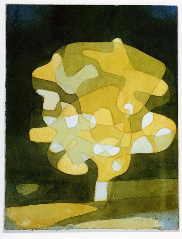 Paul Klee, Fig Tree , 1929. Image Source
