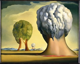 Salvador Dali,  The Three Sphinxes of Bikini , 1947.  Image Source