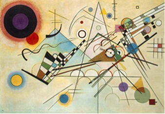 Wassily Kandinsky,  Composition VIII , 1923.  Image Source