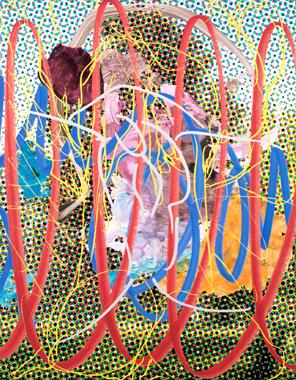 Jeff Koons, Landscape (Tree) III, 2007. Image Source