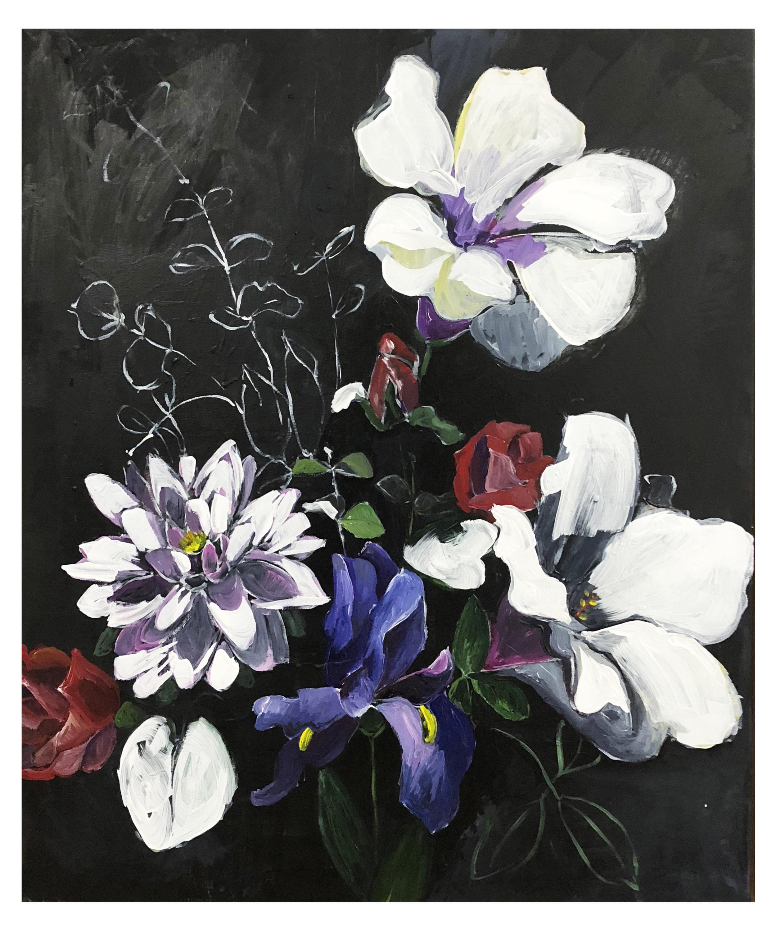 Bouquet (Process) #2 (SOLD)