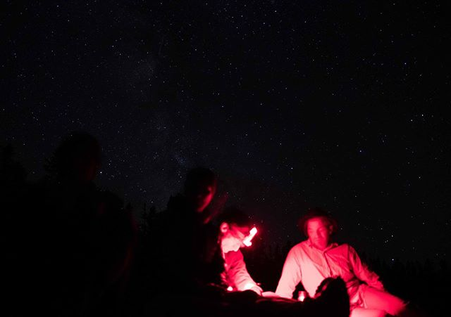 A night of stars, conversations, and journaling captured beautifully by @simonbeckford Was great to have Simon on the trip, and just as nice to remember some of the moments through his photos.