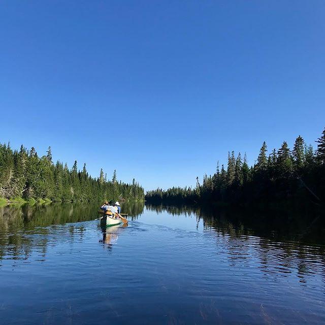 Heading down river. Photo thanks to @frances.ashforth