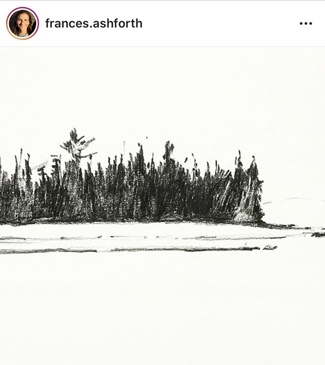@frances.ashforth shared a drawing from our recent River Residency