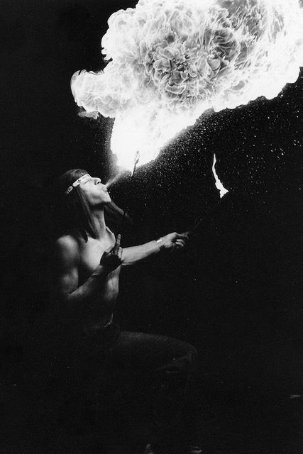 Fire eater by Amedeo