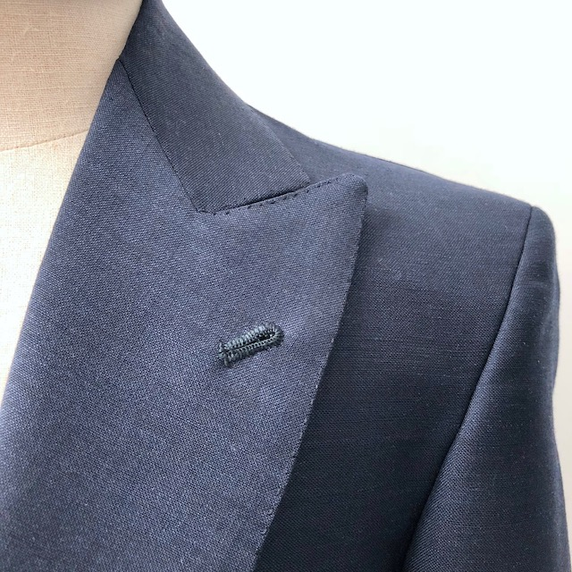Introducing Essential Bespoke: the Naxos suit in navy blue