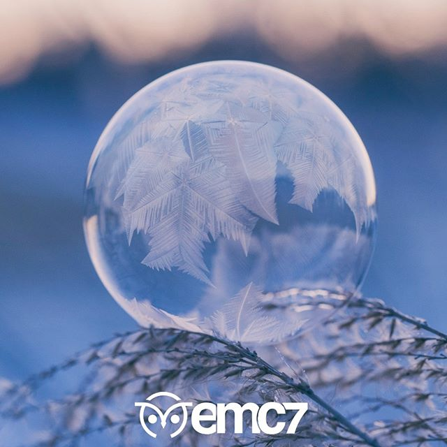 Sad to say, I could not get bubbles to freeze mid-air at 9 degrees. How cold does it have to be anyway? Disclaimer: Photo is aspirational, not actual life.