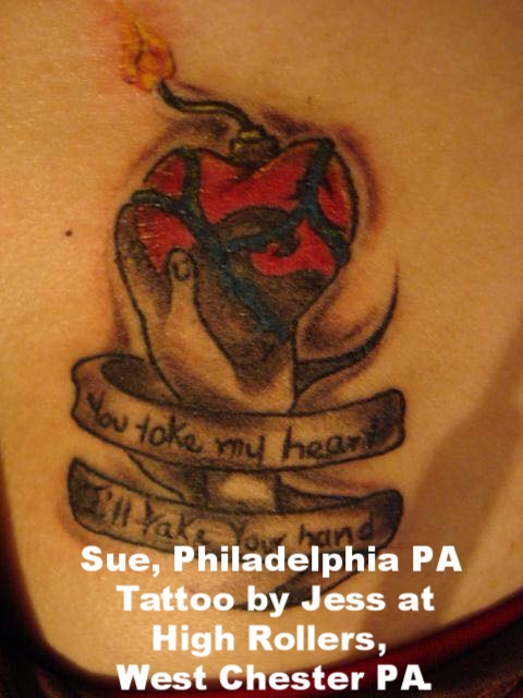 Sue, Philadelphia PA. Tattoo by Jess at High Rollers, West Chester PA..jpg