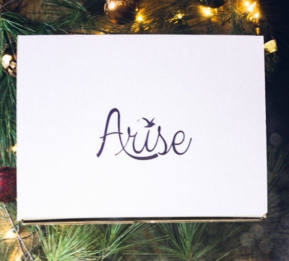 Winter 2018 - sold out - Since we're sold out of the Winter Arise Box, we're sending welcome boxes to you until we can restock! See above for more details.Theme: Home for the HolidaysPractical goodness to keep you warm and snuggly this winter + every purchase empowers human trafficking survivors!