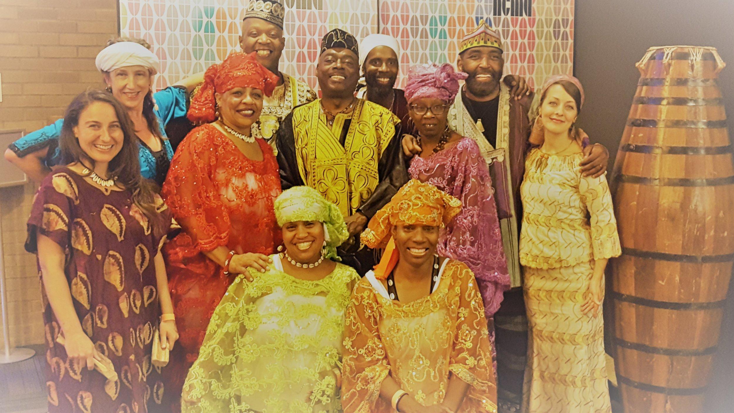 THE AFRICAN AMERICAN      DANCE ENSEMBLE