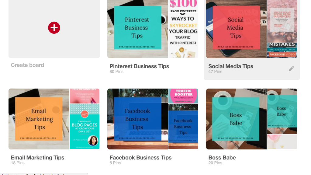Pinterest Optimization