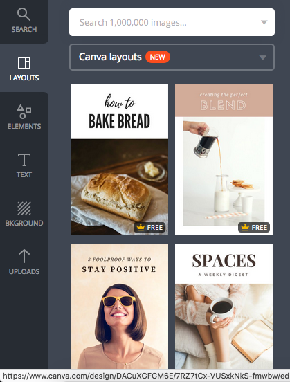 Canva pictures