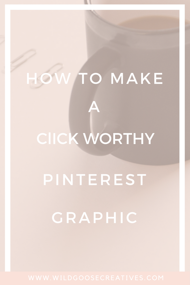 How to create a Pinterest Pin Image