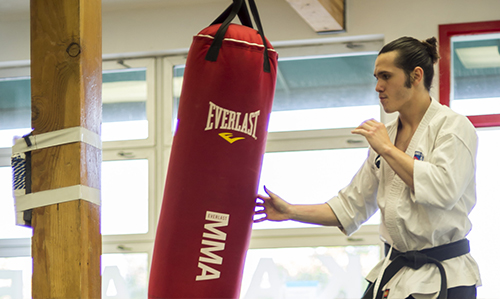 SENSEIJASON LOCKHART - Shodan / 1st DanJason began training when he was 6 years old in 2007. He earned his first degree black belt in 2013 and has 10 years of training in Shorin-Ryu Karate. He has held the title of State Champion in Koshiki sparring. Jason is also a head coach at the Tempest Freerunning Acadamy in Hawthorne, CA. When Jason isn't training and coaching he's shredding some heavy metal on his guitar.