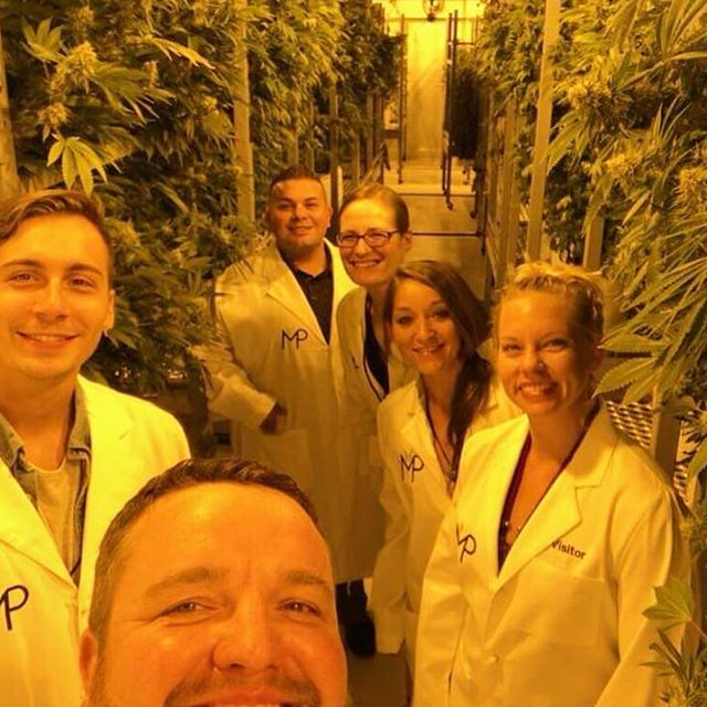 #TBT Touring the MedPharm facility in Denver with the @mygofire crew! 🤩💚 #cannabisindustry #legalweed