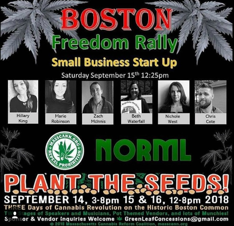 Boston Freedom Rally 2018 Small Business Startup Panel