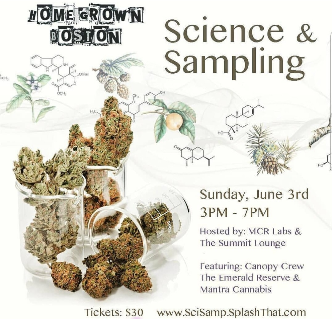 Homegrown Boston MCR Labs Science and Sampling Event