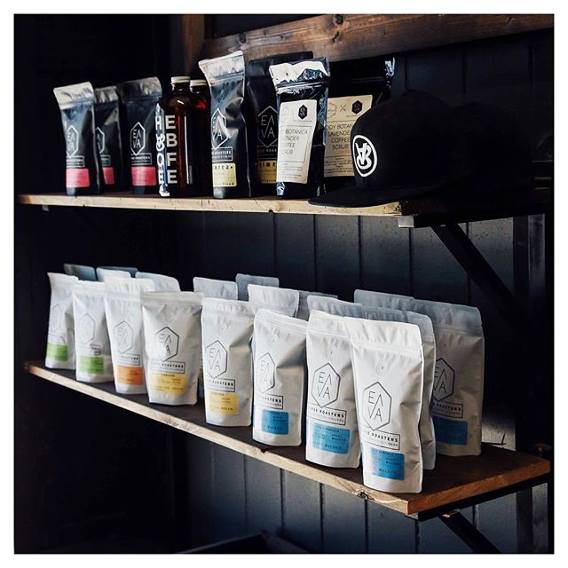 Our shelves got the beans and we are pourin' the good stuff. Get at it today, we will be closed tomorrow for Easter 🐣