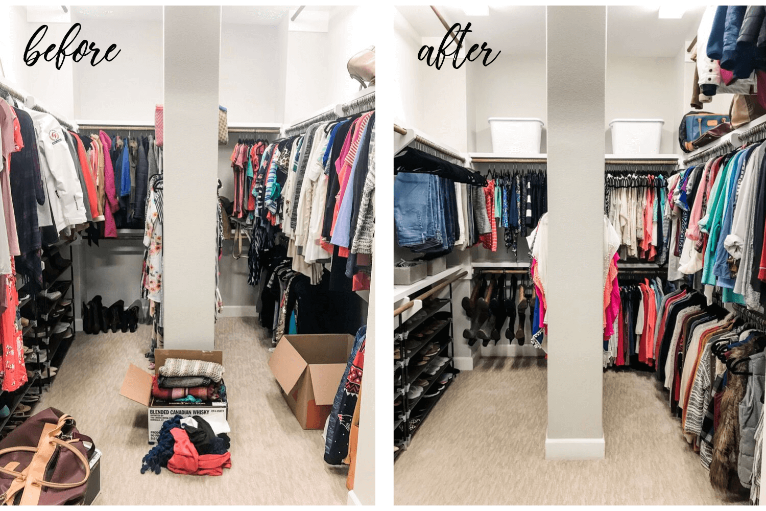 Before After Need A Closet Refresh?  7 Easy Organizing Tips To Instantly Transform Your Closet.png