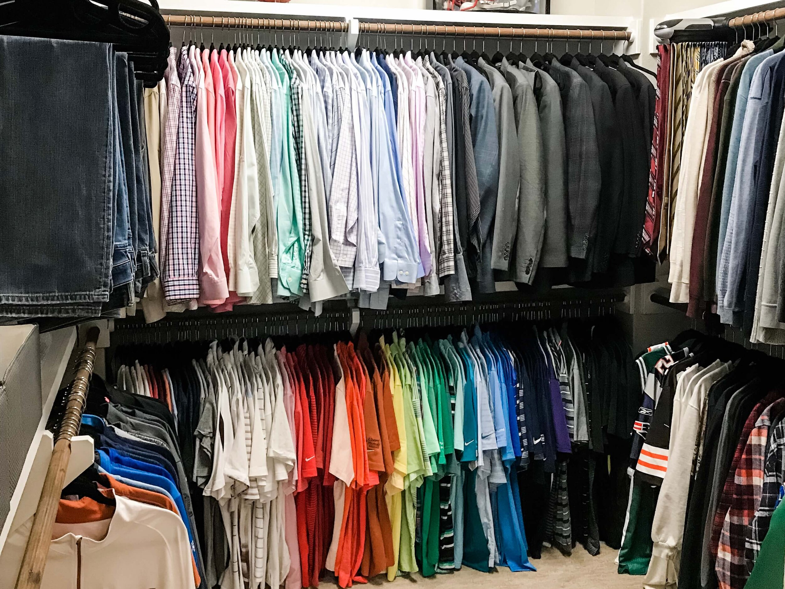 Rainbow Need A Closet Refresh?  7 Easy Organizing Tips To Instantly Transform Your Closet.jpg