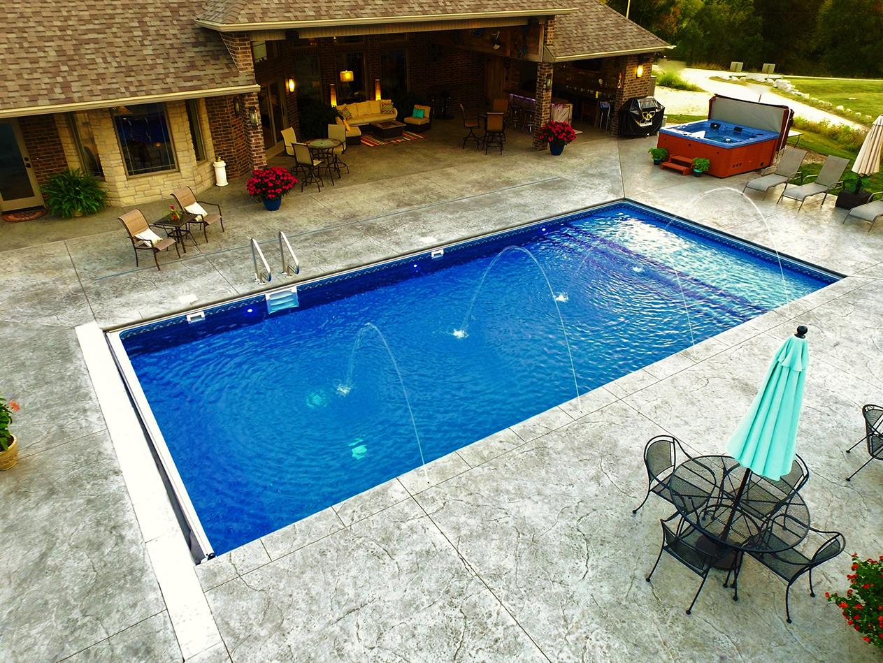 vinyl-lined pools
