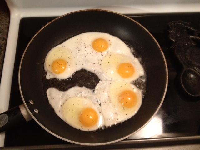 First eggs frying.JPG